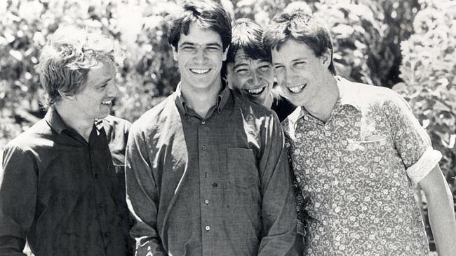 The Sunnyboys in 1982 — Richard Burgman, Bill Billson, Peter Oxley and Jeremy Oxley. Source: Supplied
